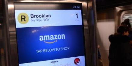 The Amazon Holiday Gift Guide on the On The Go Kiosks