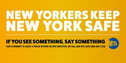 MTA Public Safety Campaign